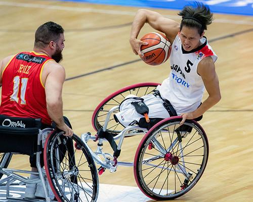 Paralympic – កីឡាបាល់បោះសម្រាប់ជនពិការ