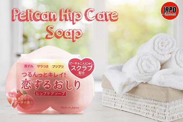 សាប៊ូព្យាបាលស្បែកគូទខ្មៅ Pelican Hip Care Soap 80g
