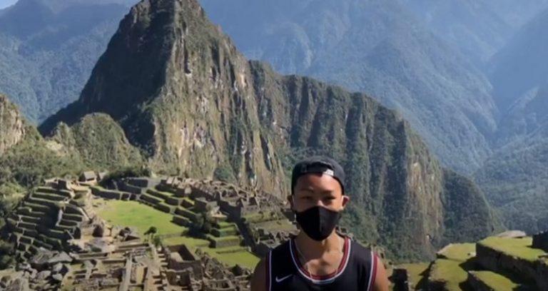 ភ្ញៀវទេសចរណ៍ជនជាតិជប៉ុនម្នាក់ជាប់គាំងនៅ Peru រយៈពេល ៧ ខែទទួលបានសំបុត្រទស្សនា Machu Picchu ពិសេសមួយសន្លឹក