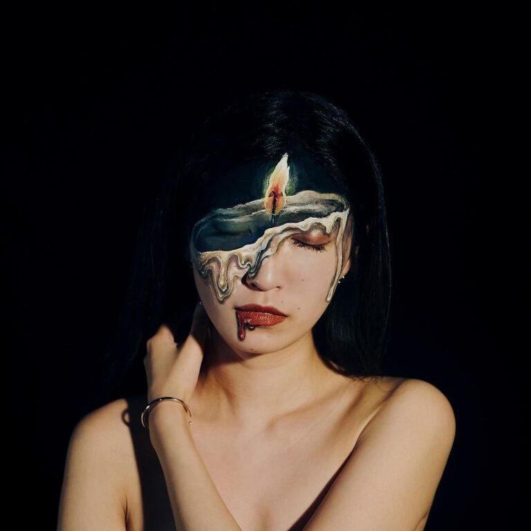គំនូររាងកាយលក្ខណៈ 3D បង្ហាញភាពរស់រវើកដូចពិតដោយវិចិត្រការនី Hikaru Cho